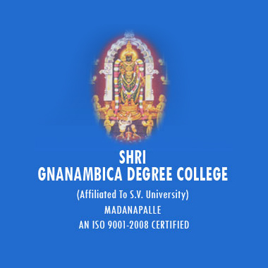 Shri Gnanambica Degree College