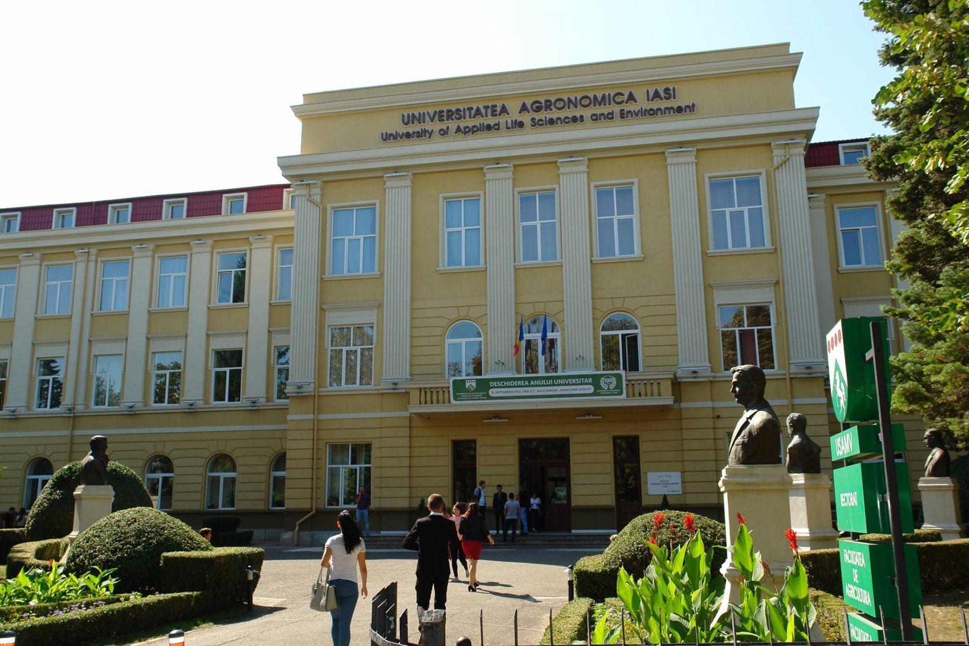 Universitatea de Ştiinte Agricole şi Medicină Veterinară – Ion Ionescu de la Brad – din Iaşi