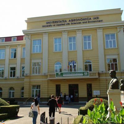 Universitatea de Ştiinte Agricole şi Medicină Veterinară - Ion Ionescu de la Brad - din Iaşi