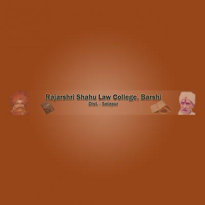 Rajarshi Shahu Law College, Barshi