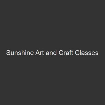 Sunshine Art and Craft Classes