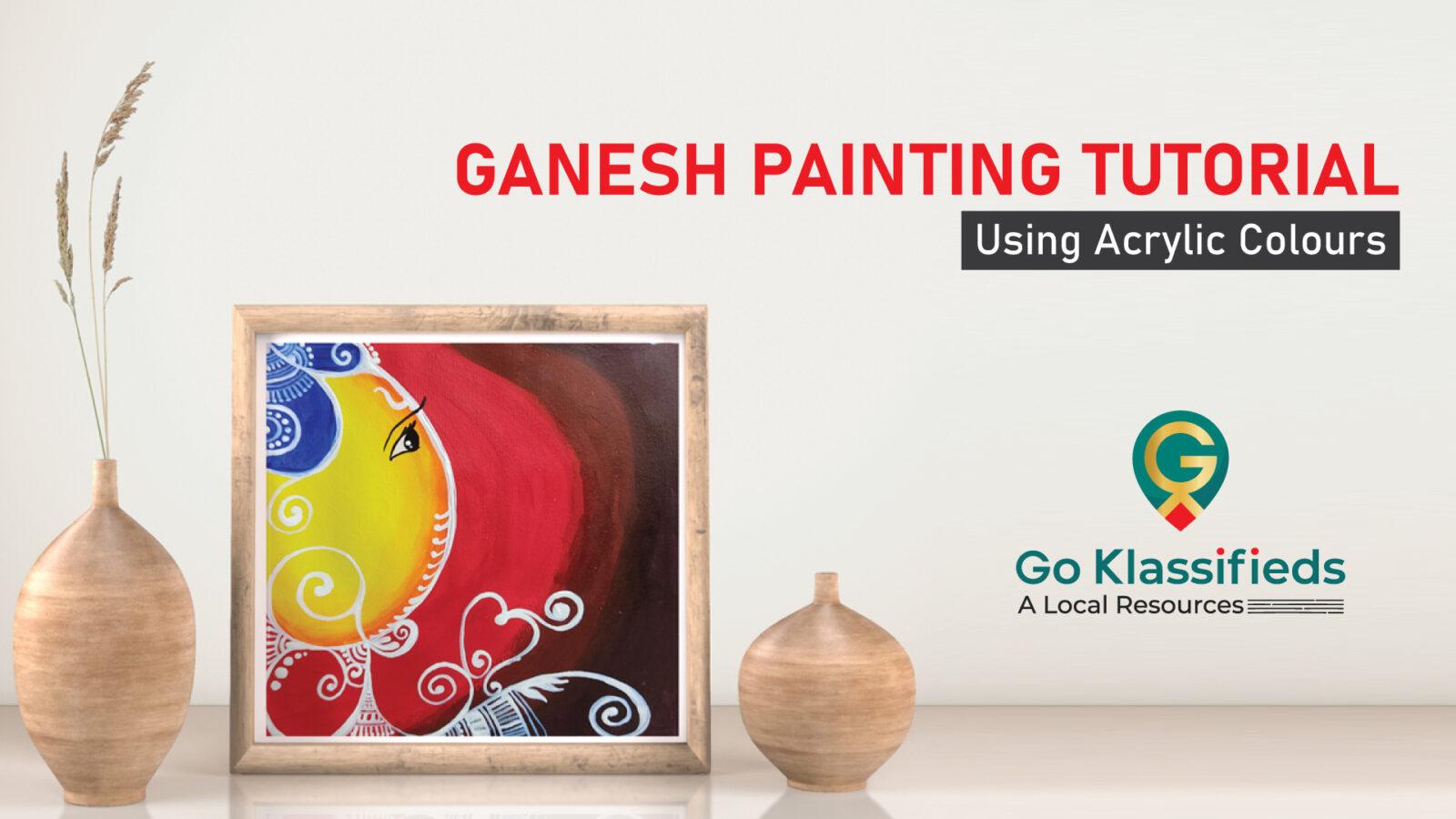 Ganesh Painting Tutorial
