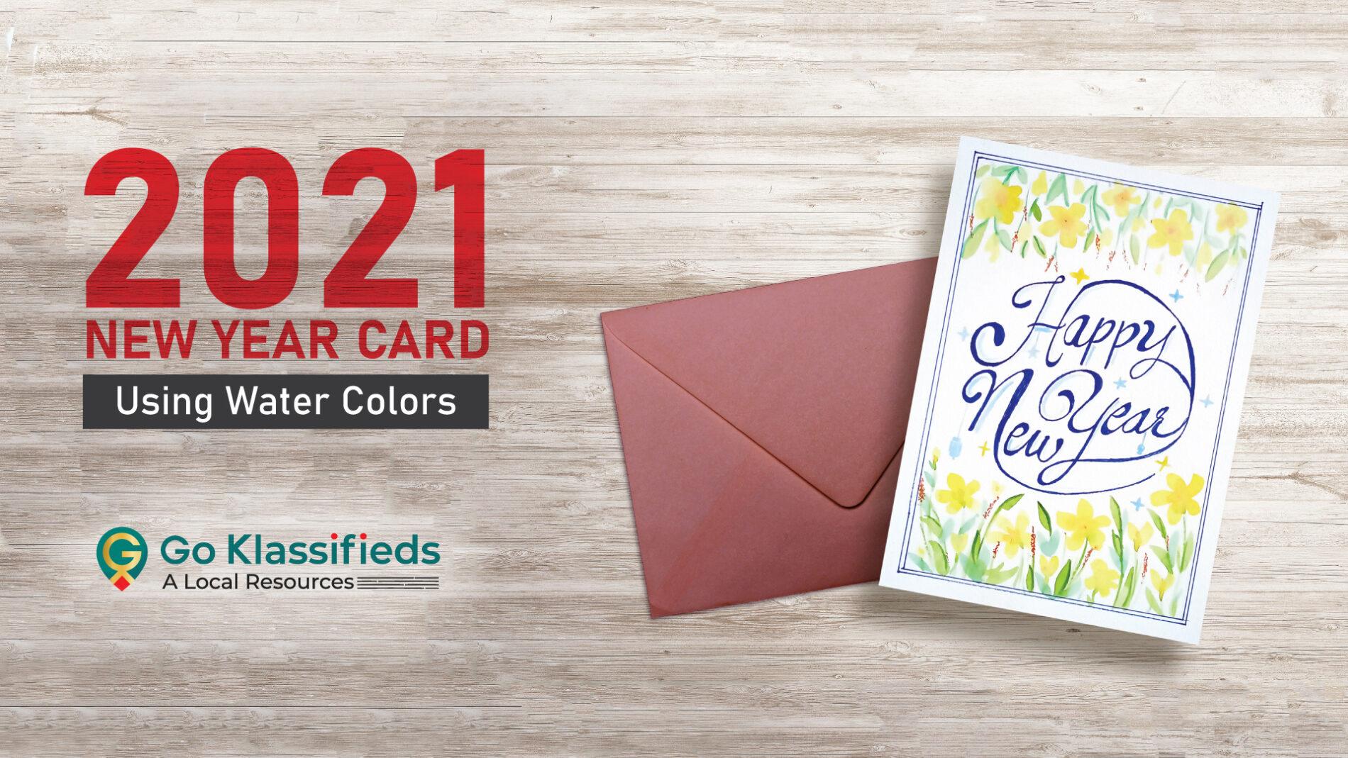 New Year Greeting Card 2021
